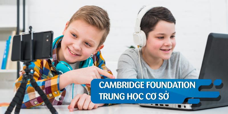 DỰ BỊ SONG BẰNG CAMBRIDGE THCS